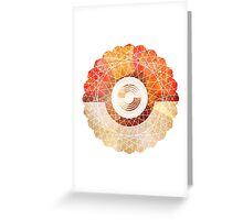 Catcher Greeting Card