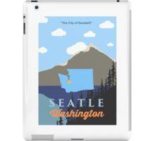 Seattle Washington. iPad Case/Skin
