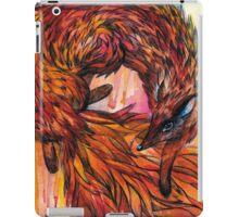 Hand drawn fox in Watercolor iPad Case/Skin