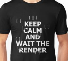 Architect - Keep Calm And Wait The Render Unisex T-Shirt