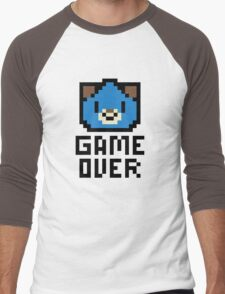 Game Over Hyperdimension Neptunia Dogoo Pixel Art Men's Baseball ¾ T-Shirt