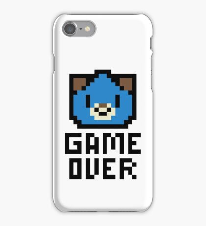 Game Over Hyperdimension Neptunia Dogoo Pixel Art iPhone Case/Skin