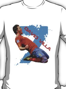 David Villa Celebration  T-Shirt