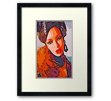 A NIGHT IN ZAIRE Framed Print