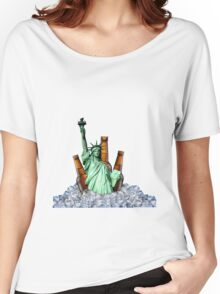 Liberty Drinks Women's Relaxed Fit T-Shirt