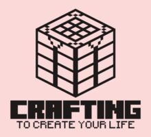 Crafting - To create your life (black) One Piece - Long Sleeve