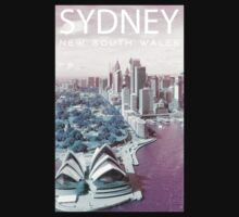ColorCity: Sydney NSW Kids Tee