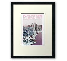ColorCity: Sydney NSW Framed Print