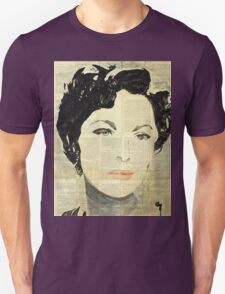 Retro portrait.  Unisex T-Shirt