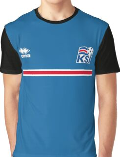 Iceland Football 2016 Graphic T-Shirt