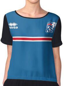 Iceland Football 2016 Chiffon Top