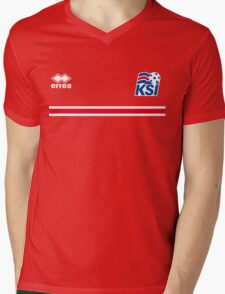 Iceland Football 2016 Mens V-Neck T-Shirt