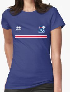 Iceland Football 2016 Womens Fitted T-Shirt
