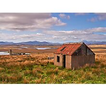 The Red Roof Shed Photographic Print