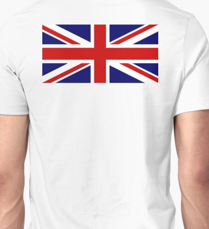 Union Jack, British Flag, UK, United Kingdom, Pure & simple, 1:2 Unisex T-Shirt