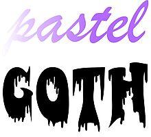 Pastel Goth Photographic Print