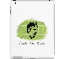 Roger Federer Rule The Court iPad Case/Skin