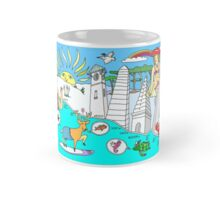 Funny Map of 30a in color Mug