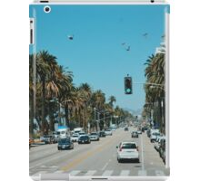On Santa Monica Blvd. (Los Angeles) iPad Case/Skin