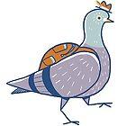 Pigeon Adventure by Amy Bouchard