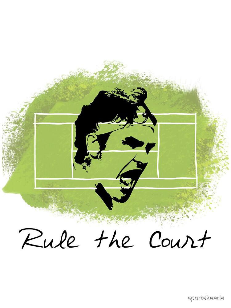 Roger Federer Rule The Court by sportskeeda