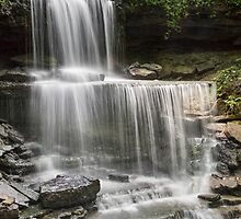 The Cascades at West Milton by Kenneth Keifer