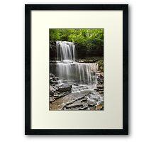 The Cascades at West Milton Framed Print