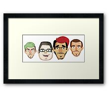 Youtuber Squad Framed Print