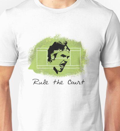 Roger Federer Rule The Court Unisex T-Shirt