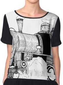 Steam Engine Chiffon Top
