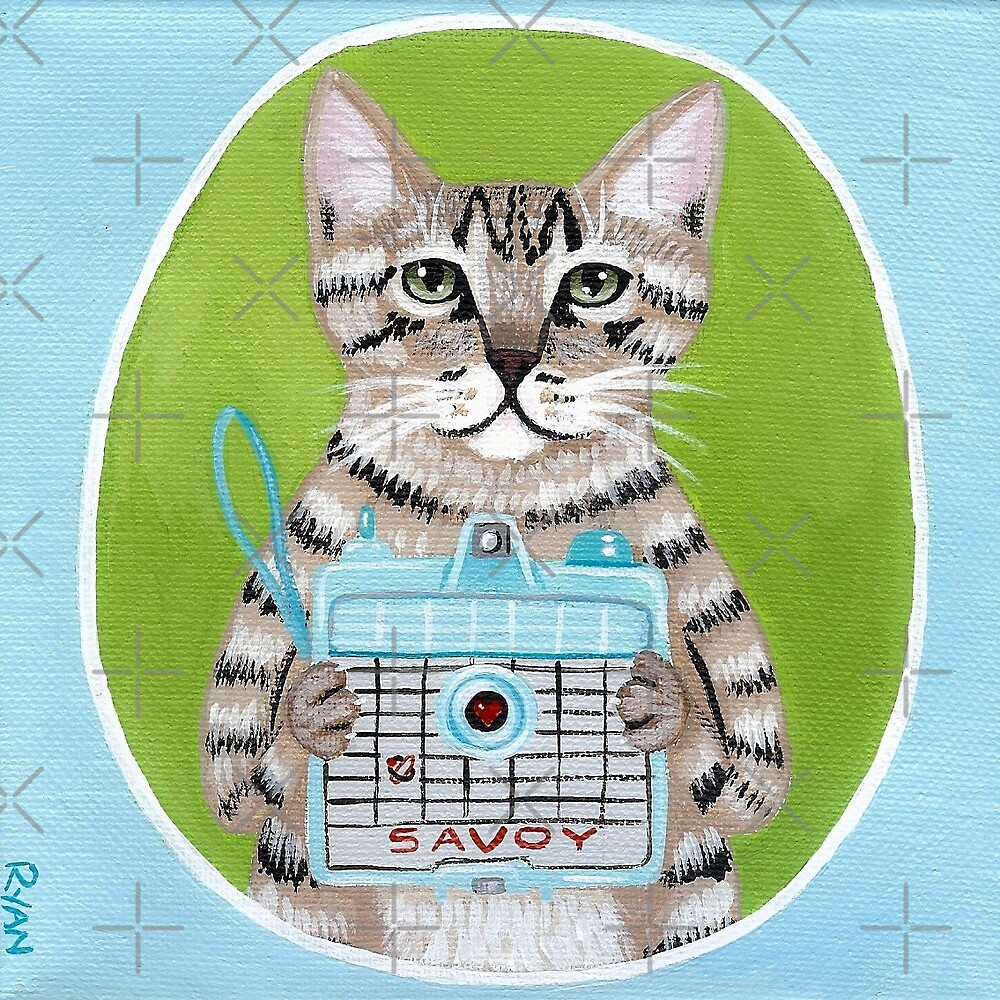 A Kitty With a Camera by Ryan Conners