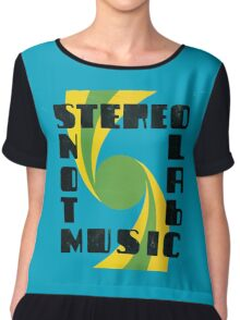 Stereolab - Not Music Chiffon Top