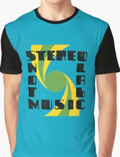 Stereolab - Not Music Graphic T-Shirt
