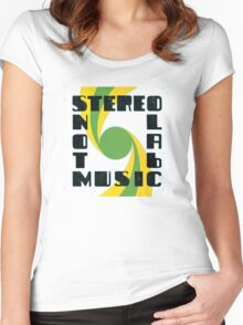 Stereolab - Not Music Women's Fitted Scoop T-Shirt