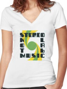 Stereolab - Not Music Women's Fitted V-Neck T-Shirt