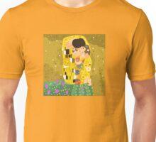 The Kiss (Lovers) by Gustav Klimt Unisex T-Shirt
