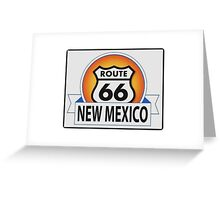 New Mexico Route 66 Greeting Card