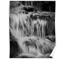 Waterfall design Poster