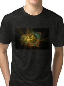 Overlapped Tri-blend T-Shirt