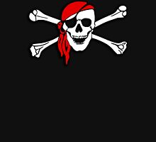 Pirate Party, Pirate, Cap, Skull & Crossbones, Jolly Roger Unisex T-Shirt