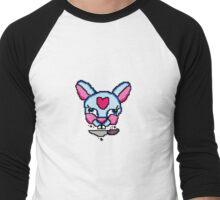 Pixel Rabbit Melanie Martinez Tattoos Men's Baseball ¾ T-Shirt