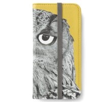 Twit-twoo i'm looking at you iPhone Wallet/Case/Skin