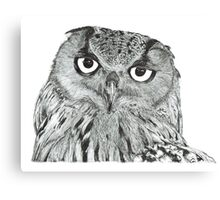Twit-twoo i'm looking at you Canvas Print