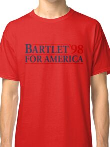 Bartlet for America Slogan Classic T-Shirt
