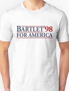 Bartlet for America Slogan Unisex T-Shirt