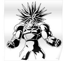 Dragon Ball Z Super Trunks T-Shirt Anime Manga Poster