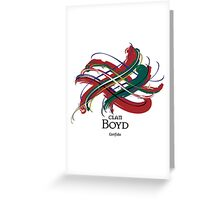 Clan Boyd  Greeting Card