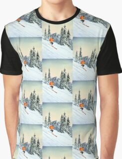 Skiing - The Clear Leader Graphic T-Shirt