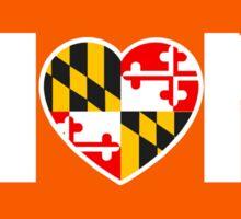 Maryland Hon Sticker