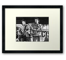 Tom Robinson Band, 1978 Framed Print